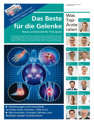 Medizin: Das Beste für Gelenke vom Donnerstag, 23.09.2021